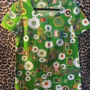 Tops - Vintage 1970's Shirt/Dress/tunic